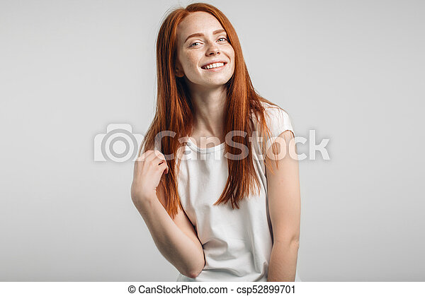 Final, beautiful redhead girls with freckles confirm. was