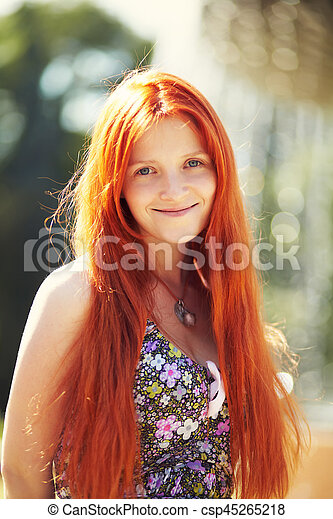 beautiful-redhead-woman