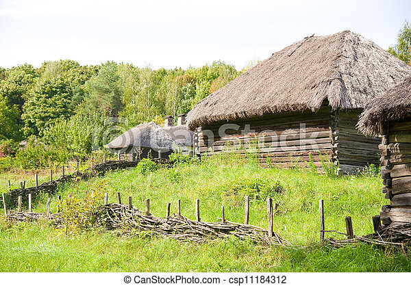 Beautiful rural cottage - csp11184312