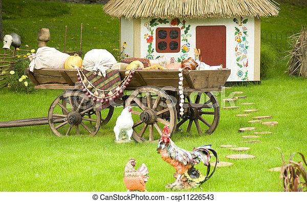 Beautiful rural cottage - csp11226543