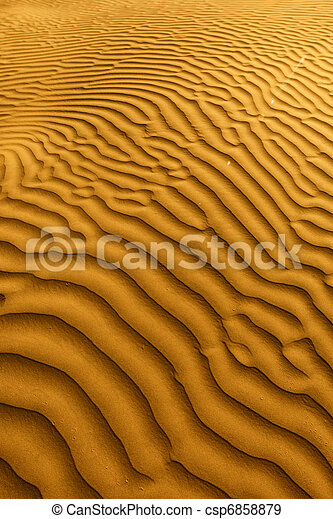 Beautiful Sand Dune Formations in Death Valley California - csp6858879