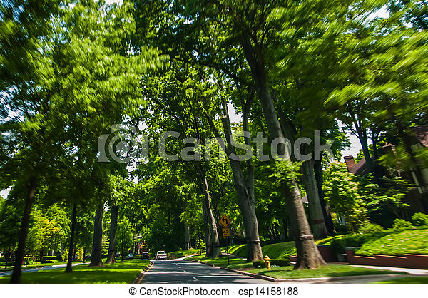 Beautiful scenic road - csp14158188