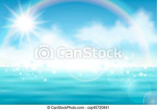 Beautiful sea view - csp45720841