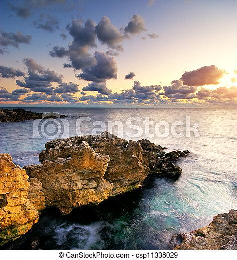 Beautiful seascape - csp11338029