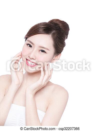 Asian gf nude selfie