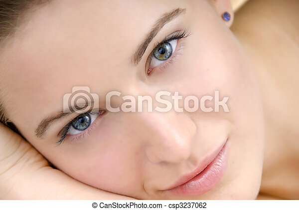 beautiful skin woman - csp3237062