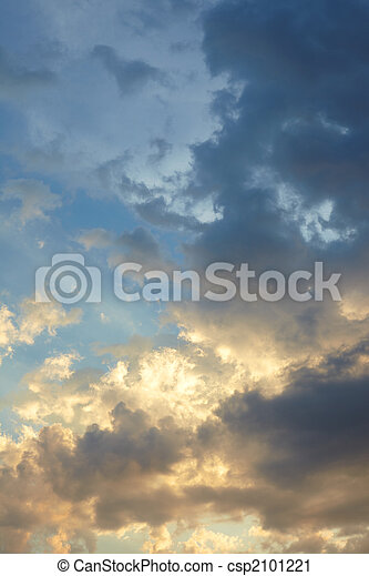 Beautiful sky background - csp2101221