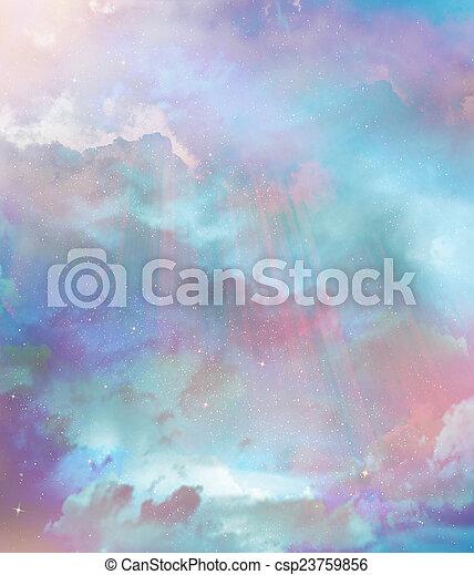 Beautiful sky background - csp23759856