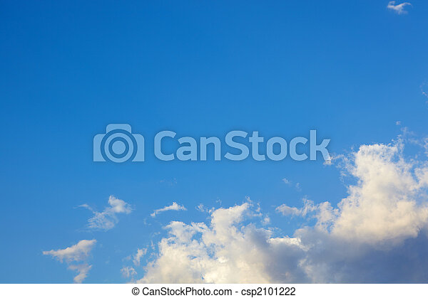 Beautiful sky background - csp2101222