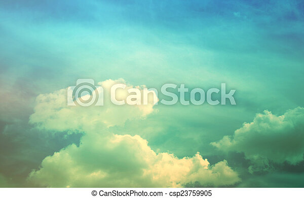 Beautiful sky background - csp23759905