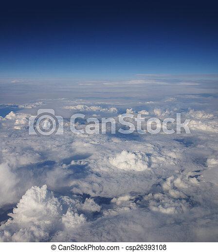 Beautiful sky background - csp26393108