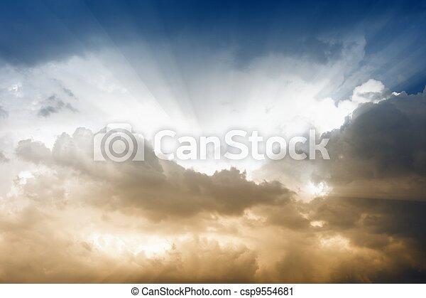 Beautiful sky - csp9554681
