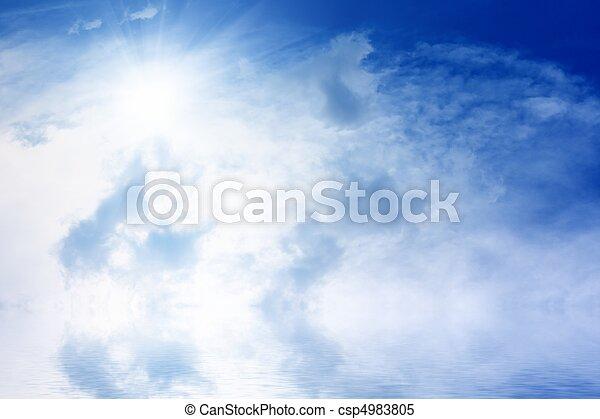 Beautiful sky - csp4983805