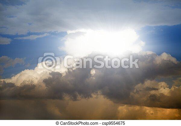 Beautiful sky - csp9554675