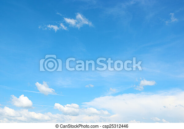 beautiful sky - csp25312446