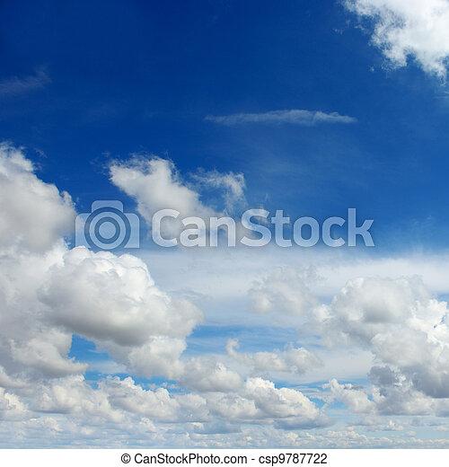 beautiful sky  - csp9787722