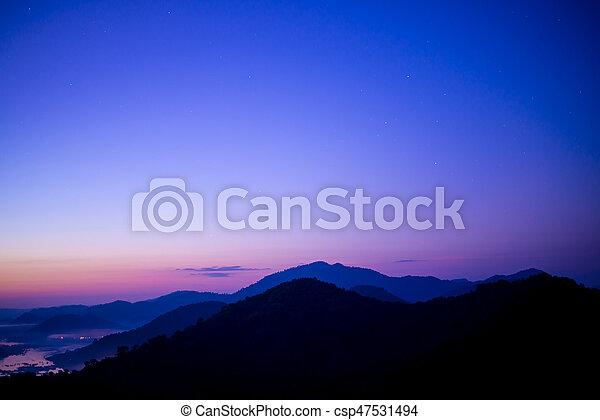 beautiful sky - csp47531494