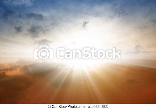 Beautiful sky - csp9554683