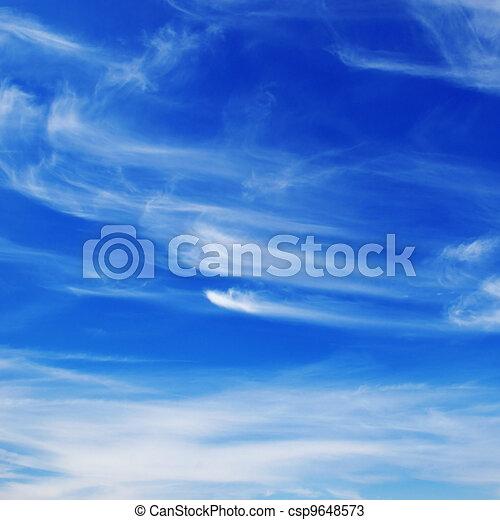 beautiful sky - csp9648573