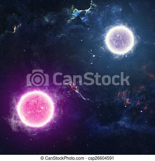 Beautiful Stars In Deep Space