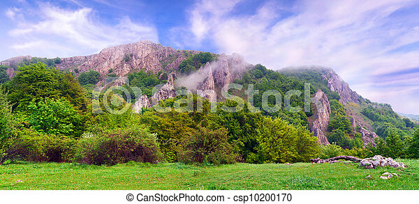 Beautiful summer landscape in the Crimea - csp10200170
