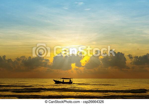 beautiful sunrise - csp26664326