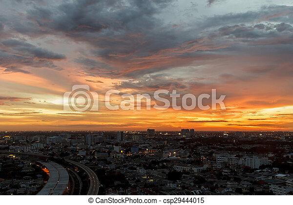 Beautiful Sunset - csp29444015