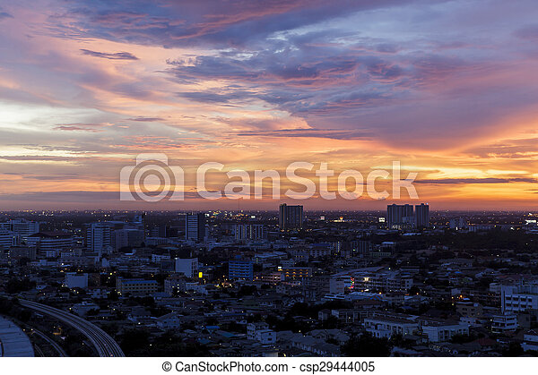 Beautiful Sunset - csp29444005