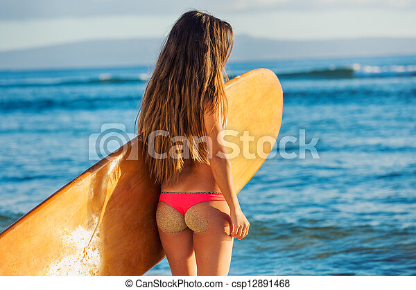 Sexy surfer
