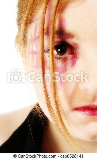 Beautiful Teen Girl - csp0528141