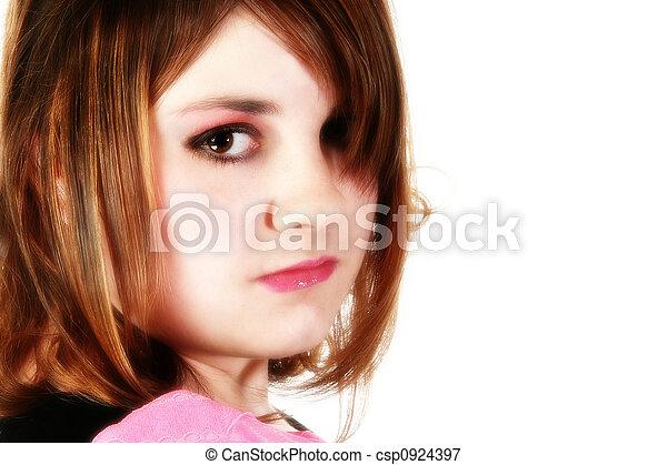 Beautiful Teen Girl - csp0924397