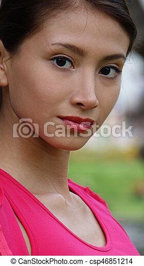 Beautiful Teen Girl - csp46851214