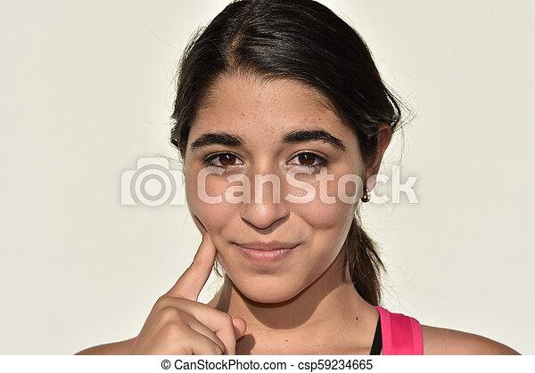 Beautiful Teen Girl - csp59234665