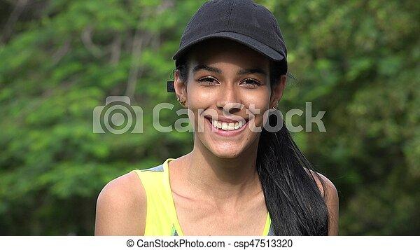 Beautiful Teen Girl - csp47513320