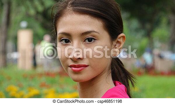 Beautiful Teen Girl - csp46851198