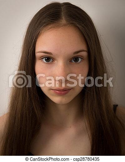 Apologise, but, Brunette teen in her bedroom bad