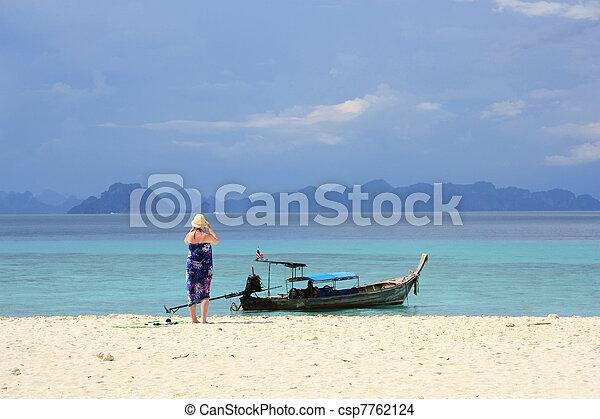 Beautiful Thai landscape - csp7762124