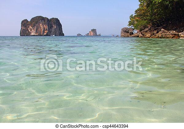 Beautiful Thai landscape - csp44643394