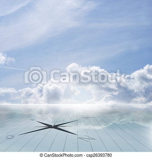 Beautiful view of sky - csp26393780