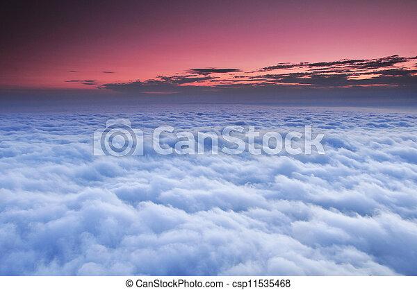 Beautiful view of sky - csp11535468