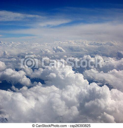 Beautiful view of sky - csp26393825