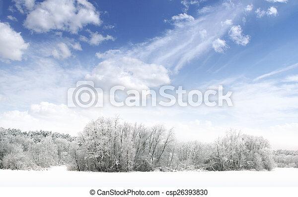 Beautiful view of sky - csp26393830