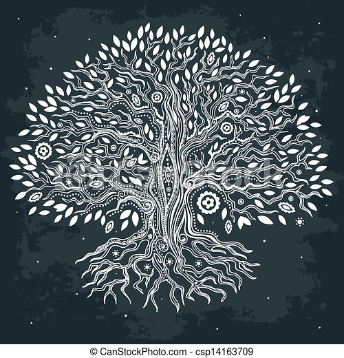 Beautiful vintage hand drawn tree of life vector clipart search beautiful vintage hand drawn tree of life vector altavistaventures Image collections