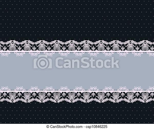 Beautiful vintage pattern - csp10846225