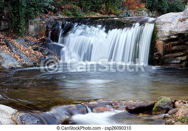 Beautiful waterfall - csp26090310