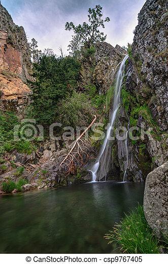 Beautiful waterfall - csp9767405