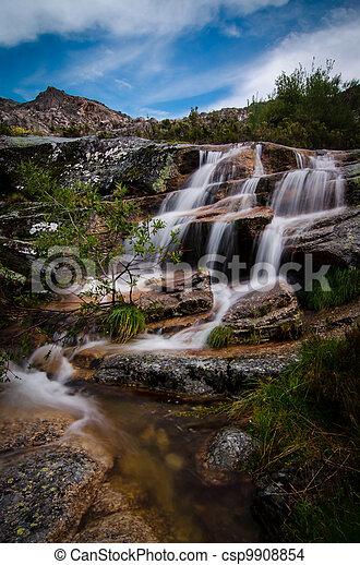 Beautiful waterfall - csp9908854