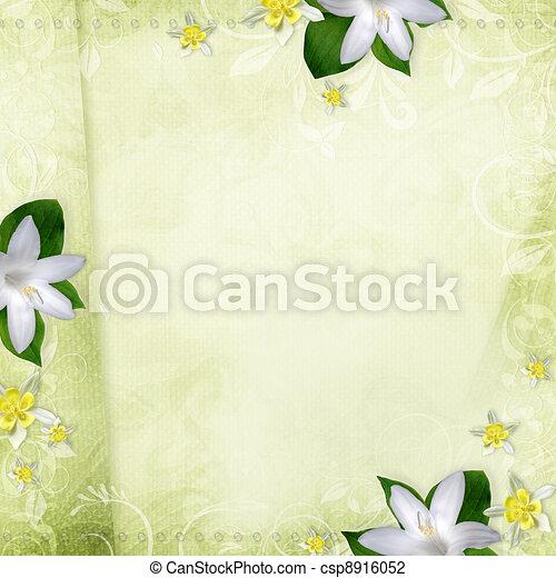 beautiful wedding background  - csp8916052