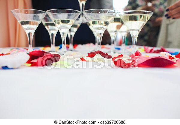 beautiful wedding ceremony - csp39720688