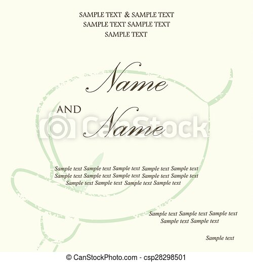 Beautiful wedding invitation card vector clipart search beautiful wedding invitation card csp28298501 stopboris Image collections